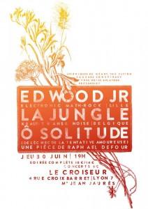 la jungle, ed wood jr