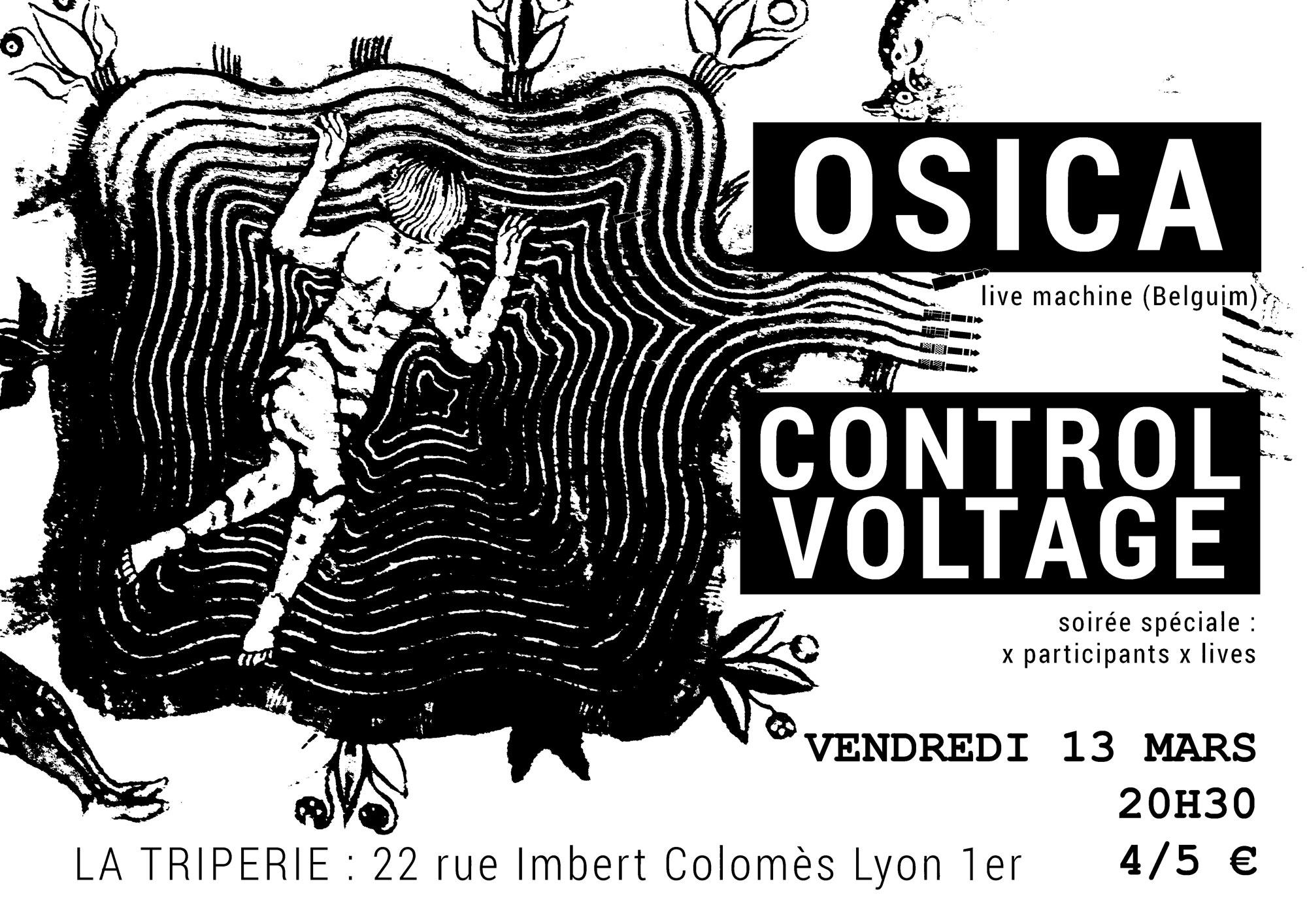 osica + controle voltage