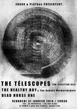 THE TELESCOPES + THE HEALTHY BOY & The Badass Motherfucker + DEAD HORSE ONE