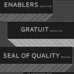 ENABLERS, GRATUIT, SEAL OF QUALITY